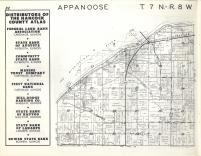 Appanoose T7N-R8W, Hancock County 1963